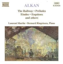 Charles Alkan (1813-1888): Klavierstücke, CD