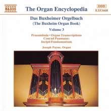 Joseph Payne - Buxheimer Orgelbuch Vol.3, CD