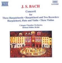 Johann Sebastian Bach (1685-1750): Cembalokonzerte BWV 1044,1057,1063, CD
