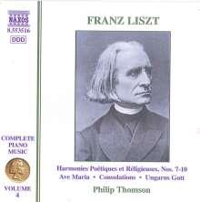 Franz Liszt (1811-1886): Klavierwerke Vol.4, CD