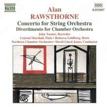 Alan Rawsthorne (1905-1971): Concerto for String Orchestra, CD