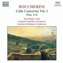Luigi Boccherini (1743-1805): Cellokonzerte Vol.1, CD
