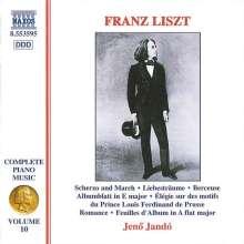 Franz Liszt (1811-1886): Klavierwerke Vol.10, CD