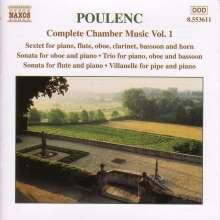 Francis Poulenc (1899-1963): Sämtliche Kammermusik Vol.1, CD
