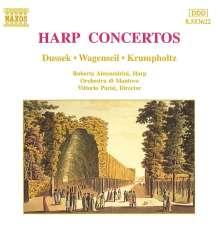 Roberta Alessandrini spielt Harfenkonzerte, CD
