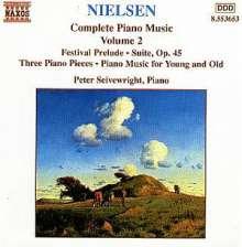Carl Nielsen (1865-1931): Klavierwerke Vol.2, CD