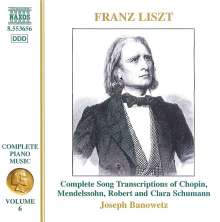 Franz Liszt (1811-1886): Klavierwerke Vol.6, CD
