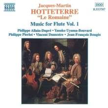 Jacques Hotteterre (1674-1763): Pieces pour la Flute Traversiere Vol.1, CD