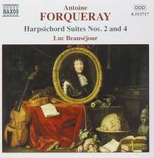 Antoine Forqueray (1672-1745): Suiten für Cembalo Nr.2 & 4, CD