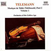 Georg Philipp Telemann (1681-1767): Tafelmusik Vol.1 (Teil 1), CD
