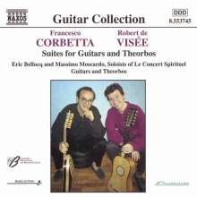 Francesco Corbetta (1615-1681): Werke für 2 Gitarren, CD