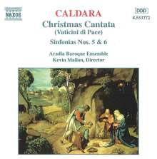 "Antonio Caldara (1671-1736): Weihnachtskantate ""Vaticini di Pace"", CD"
