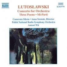 Witold Lutoslawski (1913-1994): Konzert für Orchester, CD