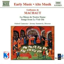 Guillaume de Machaut (1300-1377): Messe Nostre Dame, CD