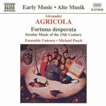 Alexander Agricola (1446-1506): Chansons, CD