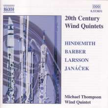 20th Century Wind Quintets, CD