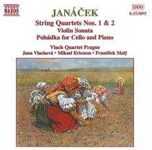 Leos Janacek (1854-1928): Streichquartette Nr.1 & 2, CD