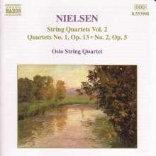 Carl Nielsen (1865-1931): Sämtliche Streichquartette Vol.2, CD