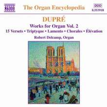 Marcel Dupre (1886-1971): Orgelwerke Vol.2, CD