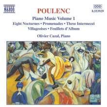 Francis Poulenc (1899-1963): Klavierwerke Vol.1, CD