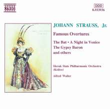 Johann Strauss II (1825-1899): Ouvertüren, CD