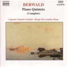 Franz Berwald (1796-1868): Klavierquintette Nr.1 & 2, CD