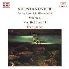 Dimitri Schostakowitsch (1906-1975): Streichquartette Nr.10,11,13, CD