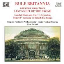 """Rule Britannia"" - Best of the Proms, CD"