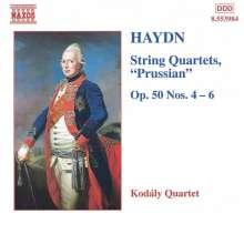 Joseph Haydn (1732-1809): Streichquartette Nr.47-49 (op.50 Nr.4-6), CD