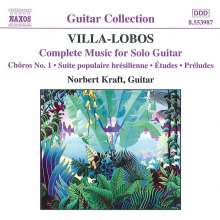 Heitor Villa-Lobos (1887-1959): Sämtliche Gitarrenwerke, CD