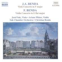 Georg Anton Benda (1722-1795): Violakonzert in F, CD