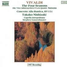 Vivaldi / Gunzenhauser: 4 Seasons, CD