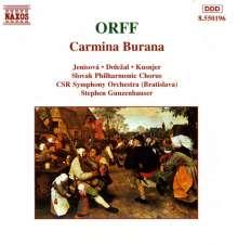 Carl Orff (1895-1982): Carmina Burana, CD