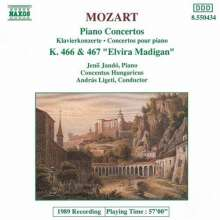 Mozart / Jando / Ligeti: Piano Concerti 20 & 21, CD
