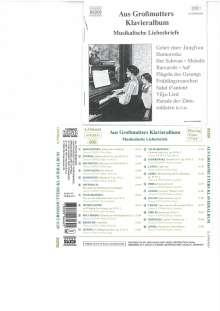 Aus Großmutters Klavieralbum, CD