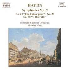 Joseph Haydn (1732-1809): Symphonien Nr.22,29,60, CD