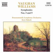 Ralph Vaughan Williams (1872-1958): Symphonien Nr.5 & 9, CD