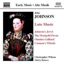 John Johnson (1550-1594): Lautenwerke, CD
