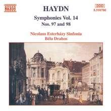 Joseph Haydn (1732-1809): Symphonien Nr.97 & 98, CD