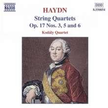 Joseph Haydn (1732-1809): Streichquartette Nr.27,29,30 (op.17 Nr.3,5,6), CD