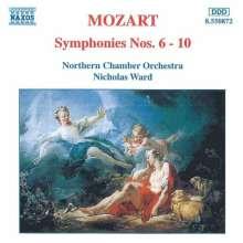 Wolfgang Amadeus Mozart (1756-1791): Symphonien Nr.6-10, CD