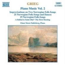 Edvard Grieg (1843-1907): Klavierwerke Vol.2, CD