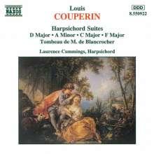 Louis Couperin (1626-1661): Cembalosuiten C-dur,D-dur,F-dur,a-moll, CD