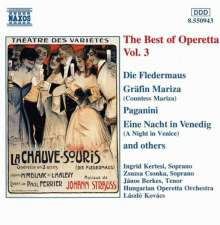 Best of Operetta 3, CD