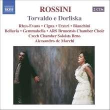 Gioacchino Rossini (1792-1868): Torvaldo e Dorliska, 2 CDs