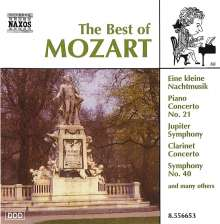 Best of Mozart, CD
