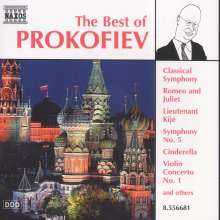 Best of Prokofieff, CD