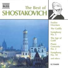 Best of Schostakowitsch, CD