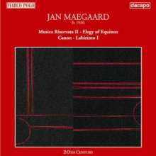 Jan Maegaard (geb. 1926): Kammermusik, CD