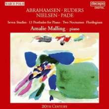 Amalie Malling - Dän.Klavierwerke d.20.Jh., CD